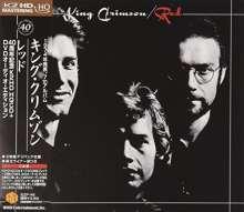 King Crimson: Red (40th Anniversary Edition) (DVD-Audio + HQCD), 1 CD und 1 DVD-Audio