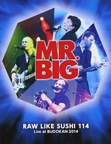 Mr. Big: Raw Like Sushi 114: Live At Budokan 2014 (Blu-ray + 2 K2HD HQCD), Blu-ray Disc