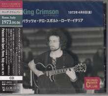King Crimson: Palazzo Dello Sport, Rome, Italy April 06, 1973, CD