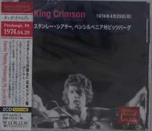 King Crimson: Stanley Theatre, Pittsburgh, PA April 29, 1974 (The King Crimson Collectors Club), 2 CDs