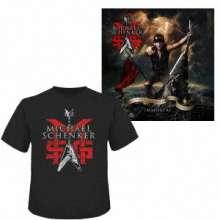 MSG (Michael Schenker Group): Immortal (+Shirt Gr.L), 3 CDs, 1 Blu-ray Disc und 1 T-Shirt