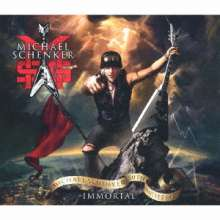 MSG (Michael Schenker Group): Immortal, 3 CDs und 1 Blu-ray Disc