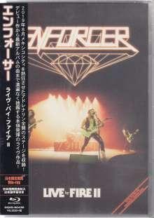 Enforcer: Live By Fire II, Blu-ray Disc