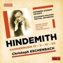 Paul Hindemith (1895-1963): Kammermusiken Nr.4-7, CD