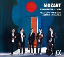 Wolfgang Amadeus Mozart (1756-1791): Streichquintette Nr.3 & 4, CD