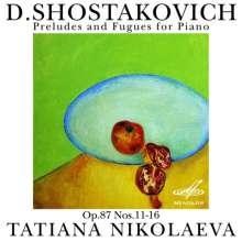Dmitri Schostakowitsch (1906-1975): Präludien & Fugen op.87 Nr.11-16, CD