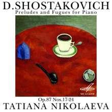 Dmitri Schostakowitsch (1906-1975): Präludien & Fugen op.87 Nr.17-24, CD