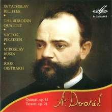 Antonin Dvorak (1841-1904): Klavierquintett op.81, CD
