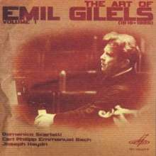 Emil Gilels - The Art of Vol.1, CD