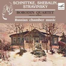 Borodin Quartet - Russian Chamber Music, CD