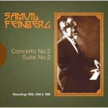 Samuel Feinberg (1890-1962): Klavierkonzert Nr.2, CD