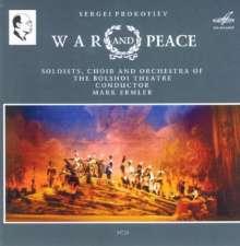 Serge Prokofieff (1891-1953): Krieg und Frieden op.91, 3 CDs