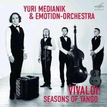 """Antonio Vivaldi (1678-1741): Concerti op.8 Nr.1-4 """"4 Jahreszeiten"""" (arr. für Bayan, Violine, Gitarre & Kontrabass), CD"""