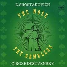Dmitri Schostakowitsch (1906-1975): Die Nase, 2 CDs