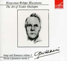 Feodor Schaljapin - The Art of Vol.2, CD