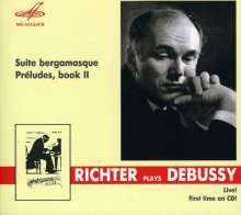 Claude Debussy (1862-1918): Preludes Heft 1 & 2, CD