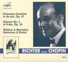 Svjatoslav Richter plays Chopin - Live, CD