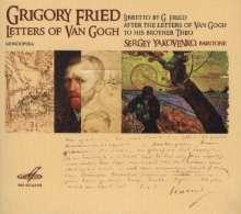 Grigori Frid (1915-2012): Letters Of Van Gogh (Monoopera), CD