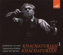Aram Khachaturian (1903-1978): Khachaturian conducts Khachaturian, CD