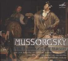 Modest Mussorgsky (1839-1881): The Nursery, CD