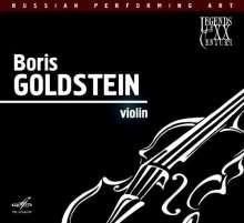 Boris Goldstein,Violine, CD