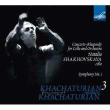 Aram Khachaturian (1903-1978): Khachaturian conducts Khachaturian Vol.3, CD