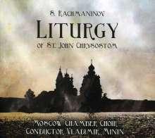 Sergej Rachmaninoff (1873-1943): Liturgie des Heiligen Johannes Chrysostomus op.31, CD