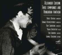 Alexander Lokshin (1920-1987): Symphonien Nr.4,9,11, CD