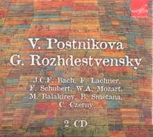 Viktoria Postnikova & Gennady Roshdestvensky, CD