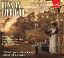 Russian Capriccio, CD