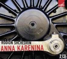 Rodion Schtschedrin (geb. 1932): Anna Karenina - Ballettmusik (Ges.-Aufn.), 2 CDs