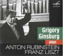 Anton Rubinstein (1829-1894): Klavierkonzert Nr.4 d-moll op.70, CD