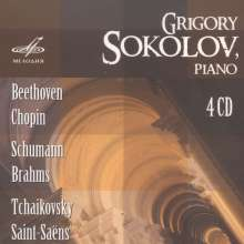 Grigory Sokolov, Klavier, 4 CDs