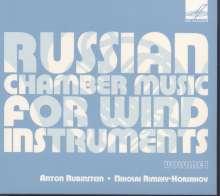 Russische Kammermusik für Bläser Vol.1, CD