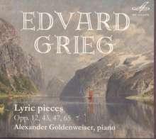 Edvard Grieg (1843-1907): Lyrische Stücke, CD