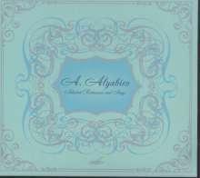 Alexander Alyabiev (1787-1851): Lieder & Romanzen, CD