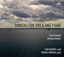 Johannes Brahms (1833-1897): Sonaten für Viola & Klavier op.102 Nr.1 & 2, CD