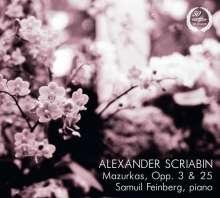 Alexander Scriabin (1872-1915): Mazurken opp.3 & 25, CD