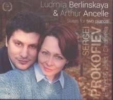 Serge Prokofieff (1891-1953): Romeo & Julia-Suite für 2 Klaviere, CD