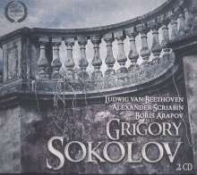 Grigory Sokolov, Klavier, 2 CDs