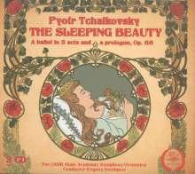 Peter Iljitsch Tschaikowsky (1840-1893): Dornröschen op.66, 3 CDs