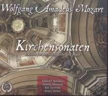 Wolfgang Amadeus Mozart (1756-1791): Kirchensonaten für Orgel, 2 Violinen & Cello, CD