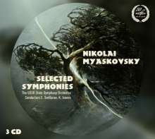 Nikolai Miaskowsky (1881-1950): Symphonien Nr.16, 17, 21, 22, 25, 27, 3 CDs