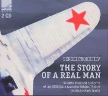 Serge Prokofieff (1891-1953): Story of a real Man op.117, 2 CDs