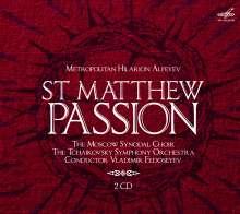 Hilarion Alfeyev (geb. 1966): Matthäus-Passion, 2 CDs