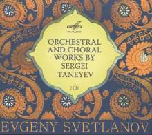 Serge Tanejew (1856-1915): Orchester- und Chorwerke, 2 CDs