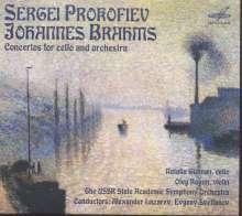 Serge Prokofieff (1891-1953): Symphonisches Konzert für Cello & Orchester op.125, CD