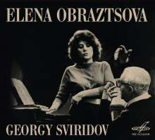 Elena Obraztsova singt Lieder, CD
