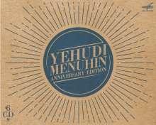 Yehudi Menuhin - Anniversary Edition, 6 CDs