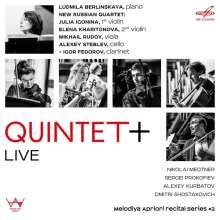 Quintet+ Live, CD